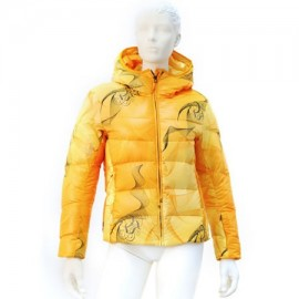 Куртка Völkl Silver Spiro Down Jacket orange print 12/13